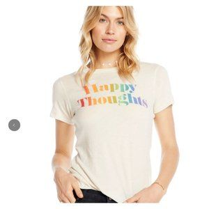 NWT Chaser Happy Thoughts Super Soft T Shirt
